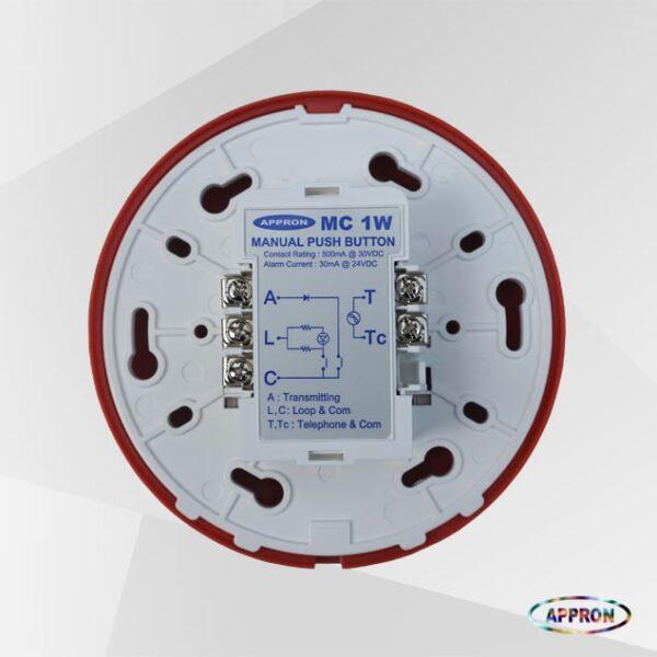 Manual Push Button MC 1W_2