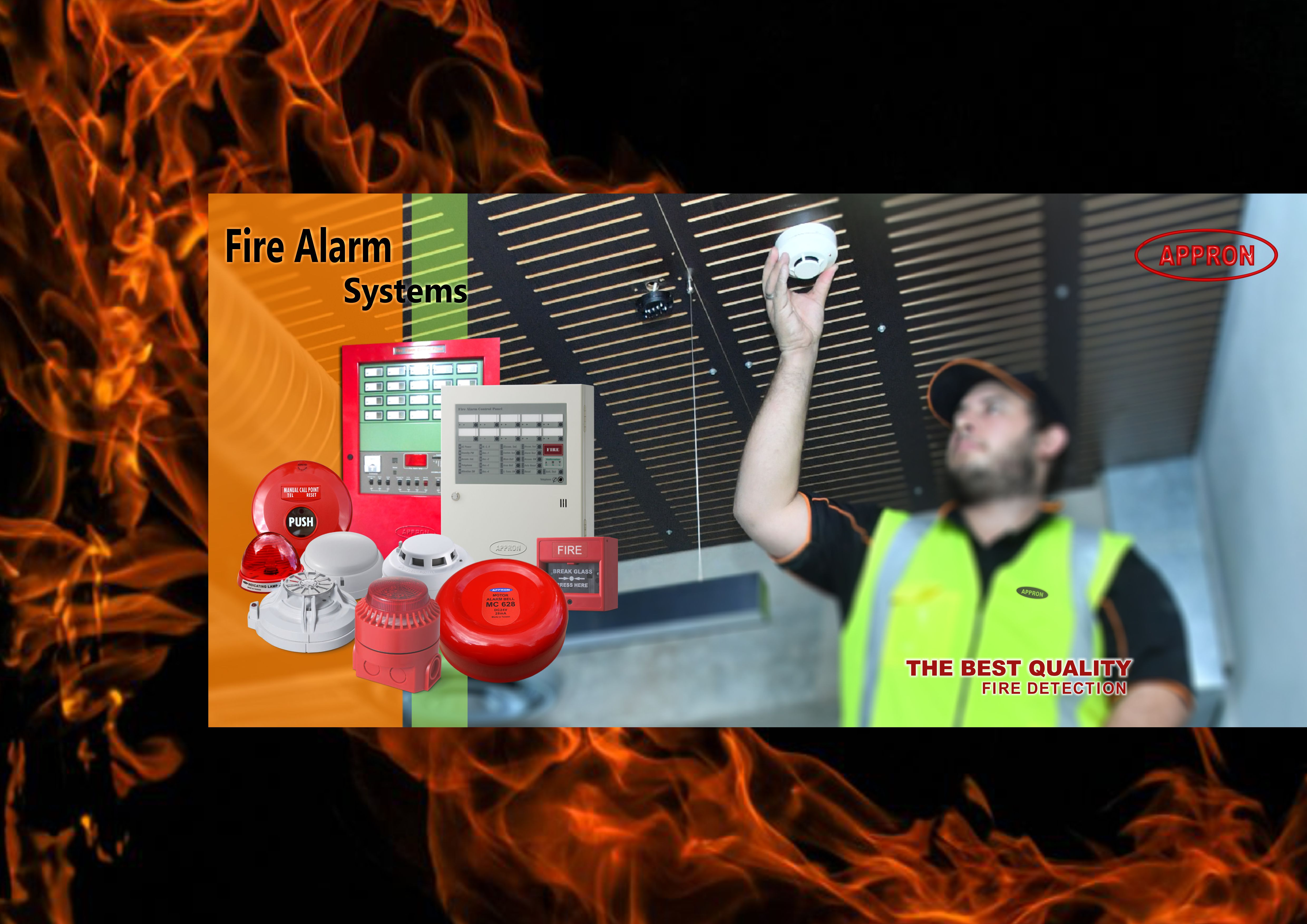 banner appron fire alarm system