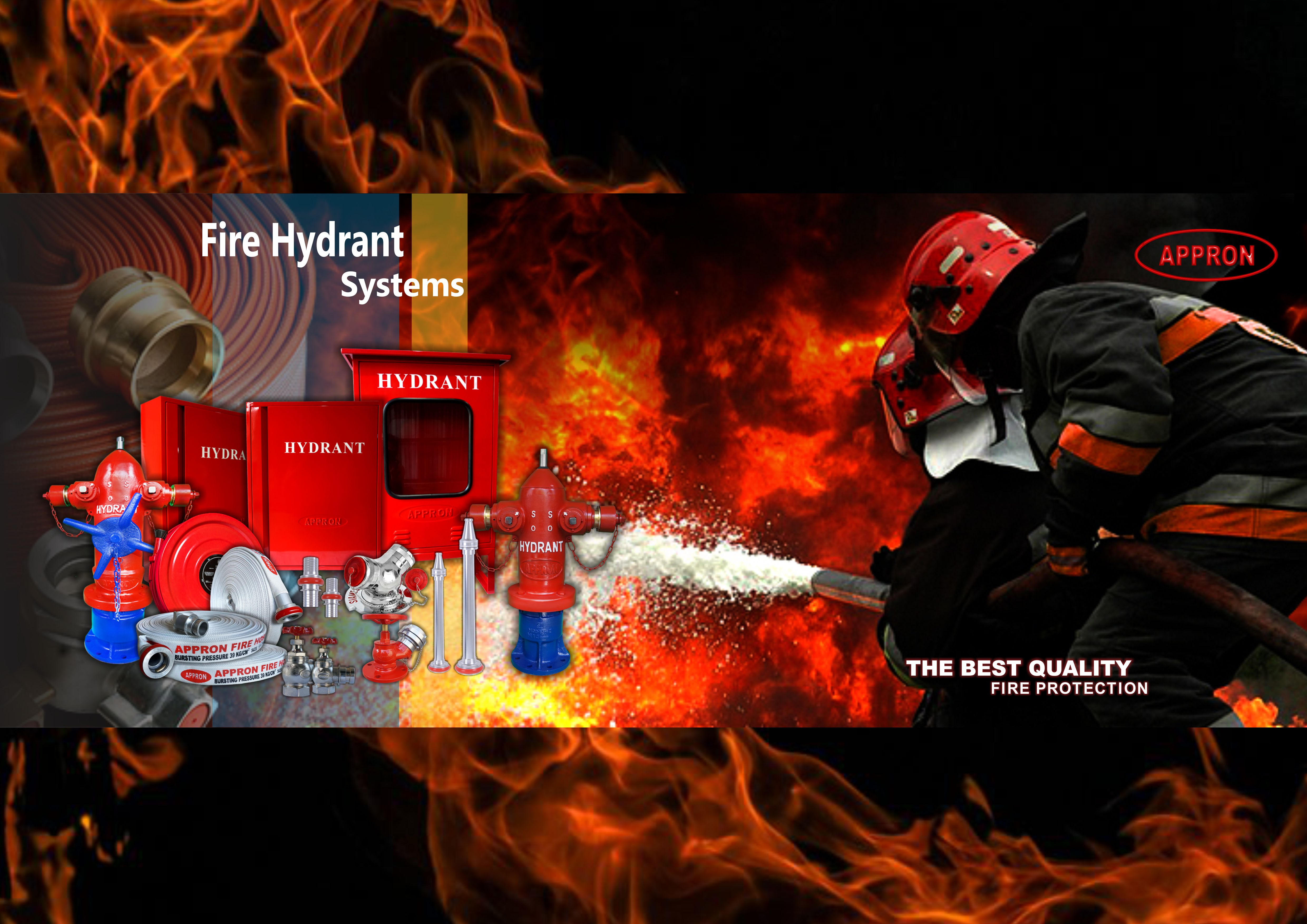 banner appron fire hydrant system