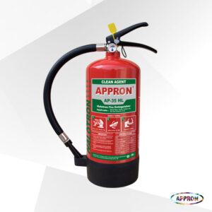 Alat Pemadam Api Portable Halotron Clean Agent AP-35 HL 3,5 Kg