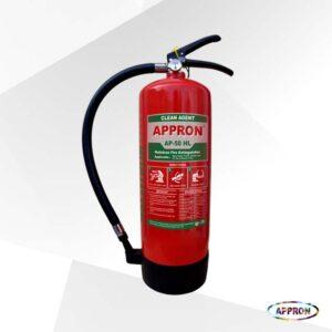 Alat Pemadam Api Portable Halotron Clean Agent AP-50 HL 5Kg