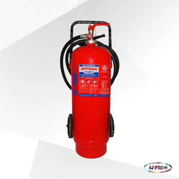 Alat Pemadam Api Trolley ABC Dry Chemical Powder AP 250S 25Kg