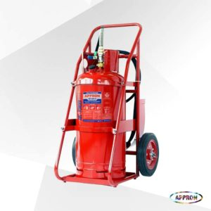 Alat Pemadam Api Trolley ABC Dry Chemical Powder AP 500S 50Kg
